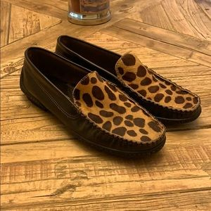 Kenneth Cole Reaction size 7 pony hair slip on